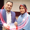 علی درجزینی و سحر خانجانی
